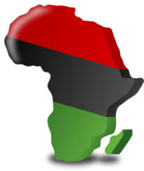 3d africa map vector maps africa d blk green free images at clker vector