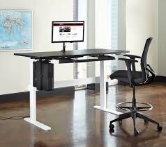 Adjustable Height Desk Chair by Computer Adjustable Height Desks Be