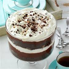 chocolate trifle recipe taste of home