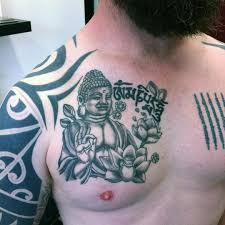 les plus beaux tatouages homme tatouage bouddha 59 idées pour un joli tattoo