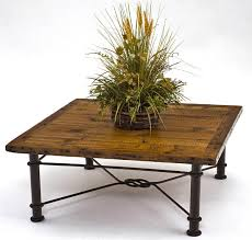 Coffee Table With Metal Base by Rustic Coffee Tables Reclaimed Old Barn Wood Trestle Base
