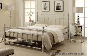 bed frames romantic iron beds california king metal headboard