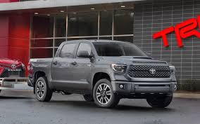 toyota tacoma vs tundra toyota unveils 2018 tundra trd pro sport signaling refresh for