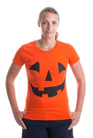 Halloween Costumes Pumpkin Woman Halloween Costume Shirts Men Women Kids Coupon
