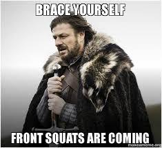 Squat Meme - wednesday hoosier athletic club
