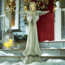 Christmas Outdoor Decorations Angels by 25 Best Outdoor Christmas Decorations Images On Pinterest
