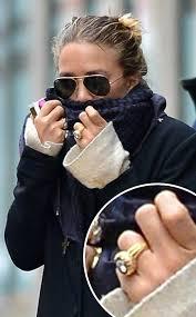 mary kate olsen u0027s obscene engagement ring u2013 the haute