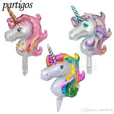 classic unicorn ring holder images 16inch mini anagram unicorn balloons animal foil balloon globos jpg