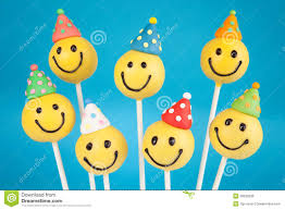 themed cake pops birthday cake pops royalty free stock images image 30638339