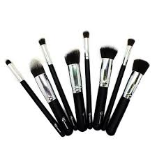 rc cosmetics makeup store face and contour kabuki silver brush