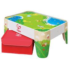 table toys play table railway play table e3823 hape toys