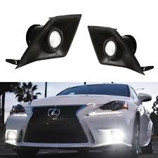 lexus is220d turbo upgrade amazon com ijdmtoy lexus f sport 15w high power projector led fog