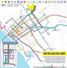 Santa Monica College Campus Map Big Blue Bus Route From Ucla To Sawtelle Boulevard Approved