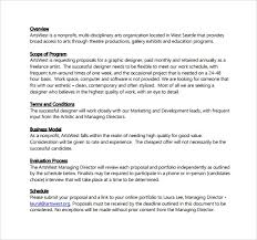 graphic design proposal example template billybullock us