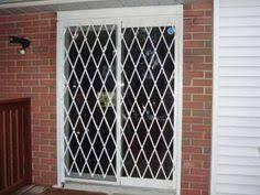 Patio Door Security Shutters Pair Folding Security Gates Secure Dock And Receiving Doors