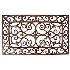 Cast Iron Doormat Burghley Cast Iron Doormat Amazon Co Uk Kitchen U0026 Home