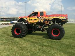 monster truck racing association bar u0027s leaks and rislone continue monster truck sponsorships for