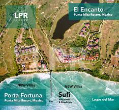 Punta Mita Mexico Map by Porta Fortuna Luxury Punta Mita Real Estate