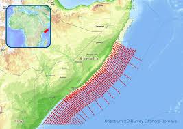 Map Of Somalia Spectrum Signs Seismic Data Agreement To Kick Start Oil