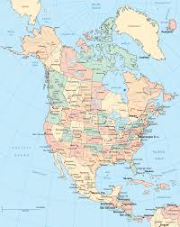 Alaska Cities Map by Large Detailed Political And Administrative Map Of The Usa With