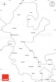 Blank Maps Of Africa by Blank Simple Map Of Thaba U0027nchu