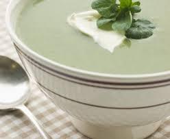 cuisiner le cresson soupe simplissime de cresson et pommes de terre recette de soupe