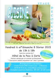 stage de cuisine professionnel stage découverte cuisine cpie centre corse