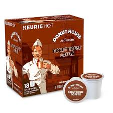 keurig k cups light roast donut house collection light roast coffee k cup pods 18ct target