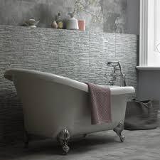 southbank natural effect bathroom tiles bathstore southbank grey splitface decor 298x498 image 1