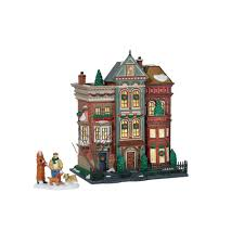 dept 56 halloween retired amazon com department 56 christmas in the city east village row