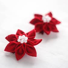 christmas hair accessories christmas hair hair flower girl hair