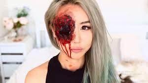 beginners halloween makeup tutorial the bloody eye video