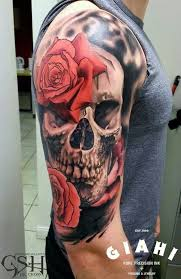 skull and roses tattoo image collections hair and trends 2018 sample