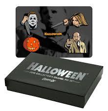 halloween 6 pin enamel pin collector u0027s set u2013 halloweenmovies