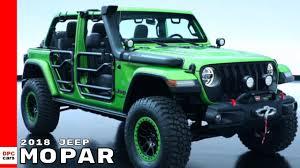 mopar jeep accessories 2018 jeep wrangler by mopar youtube