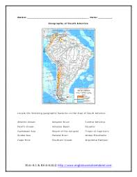 south america reading comprehension worksheets