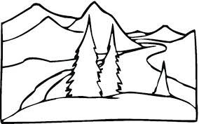 coloring pages for landscapes free landscape coloring pages teaching kids free landscape coloring