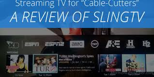 Sling Tv Slingtv Live Streaming Tv For Cable Cutters Mormon Life Hacker