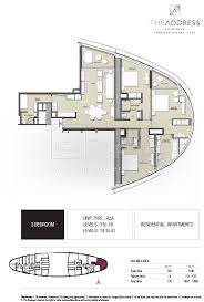 floor plans by address floor plans the address residence jumeirah resort spa jumeirah