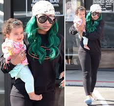 blac chyna cares for baby dream despite rob u0027s claims she u0027s an