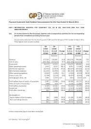 Comparative Income Statement Template dividends on income statement best template collection