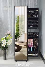 Jewelry Storage Cabinet Hot Sale Side Pulling Jewelry Storage Cabinet With Full Length