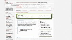 curriculum vitae formato pdf da compilare esempio curriculum vitae modello da compilare esempio cv lettere