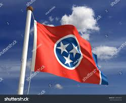 Tennesse Flag Tennessee Flag With Clipping Path Stock Illustration 144084430