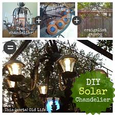 how to make a solar light from scratch make your own diy solar chandelier check out kat s awesome gazebo
