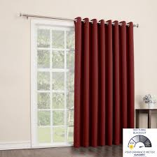 patio doors amazoncom sun zero easton blackout patio door curtain