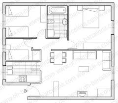 plan appartement 3 chambres appartement de 3 chambres barcelone quartier de sants of plan