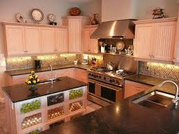 High Ceiling Kitchen by Traditional Kitchen With U Shaped U0026 Simple Granite Counters In