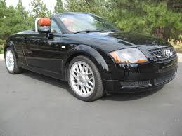 audi tt convertible 24k mile 2005 audi tt convertible 6 speed for sale on bat auctions