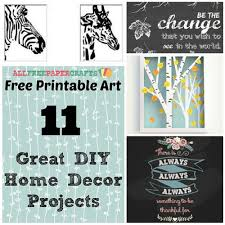 free printable art home decor free printable art 14 great diy home decor projects free